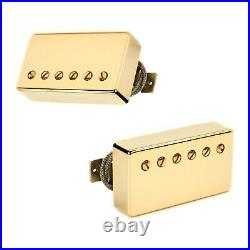 Lindy Fralin Pure PAF Humbucker Set (Gold Covers)