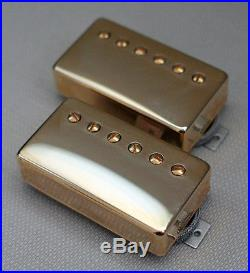 Lindy Fralin Pure PAF Stock Humbucker Pickup set gold (7.5k neck/8.0k bridge)