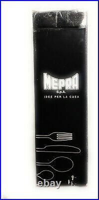 MEPRA Due BRONZO 5-Piece Flatware Set Pure bronze made in Italy