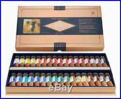 MIJELLO Mission Gold Pure Pigment Watercolor 15ml 34 Colors set MWC-1534P