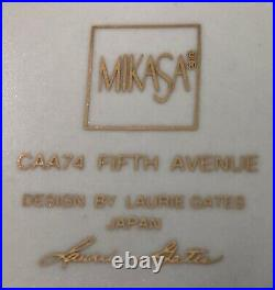 MIKASA FIFTH AVENUE CHINA CAA74 China Cabinet Display Rarely Used Perfect