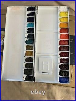 Mijello Mission Gold Pure Pigment Set 26 + Hand Poured Palette And Sketchbook