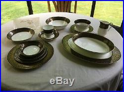 Mikasa Mount Holyoke Fine Bone China Set For 12 New Perfect Condition