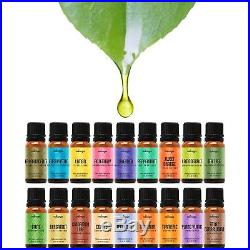 Natrogix Nirvana Essential Oils Top 18 Essential Oil Set 100% Pure Ther. New