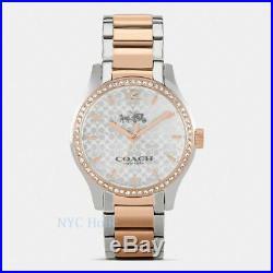 New Coach W6183 Maddy Two Tone Set Bracelet Watch NWT Perfect Gift