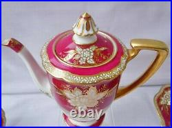 Noritake 1930's Gilded Coffee Set, Perfect Condition