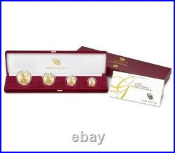 PURE SOLID GOLD COINS WOW! American Eagle 2019 Gold Proof 4 Coin Set OGP