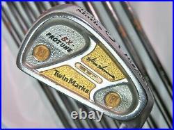 Perfect 10pc 2star Gold HONMA Twin Marks PROTUNE-SX R-FLEX IRONS SET nwo
