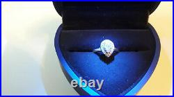Perfect Fit 9ct White Gold 1/3ct Diamond Pear Cluster Set Ring(s)