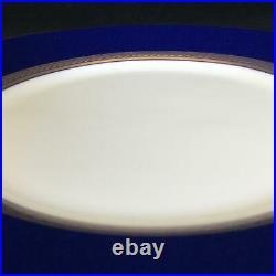 Perfect Set of 4 Wedgwood RENAISSANCE GOLD 8 Cobalt Blue Salad Plates