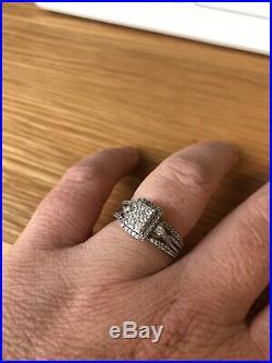 Perfect fit bridal set White Gold & Diamond
