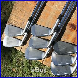 Ping iBlade Iron Set 3-PW Dynamic gold S400 Purple Dot Pure Grips Custom Grind