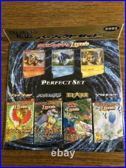 Pokémon Card Legend Perfect Set Heart Gold Soul Silver Resurrected Legends Top