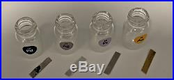 Precious Metal Electrode Pack Set 99.9% Pure Elements Gold Palladium Platinum Ag