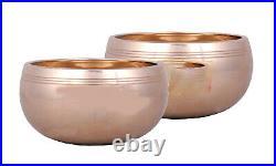 Pure Bronze Dinner Bowl Set, 2 Pcs Kansa Katori, 250 ml each, Gift Item