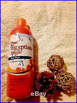 Pure Egyptian Magic GOLD MAXI TONE LOTION & Face & Body-Set