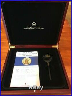 Pure Gold World's Smallest Gold 12 Coins Set With Magnifying Glass