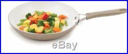 Pure Living Nonstick Ceramic Coating Scratch Resistant Cookware Set 10-Piece