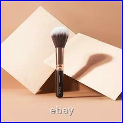 Pure Synthetic Natural Complete Makeup Brush Set Vol 1 Rose Golden Includes 15