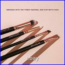 Pure Synthetic Natural Luxury Makeup Brush Set Vol 1 Rose Golden Includes 8