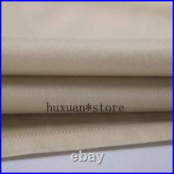 Pure White Bedding Sets King Queen Sz Silver Gold Embroidery Duvet Cover Cotton