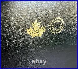 RCM 99.999% Pure Gold Fractional Set Mintage 500 (2020)