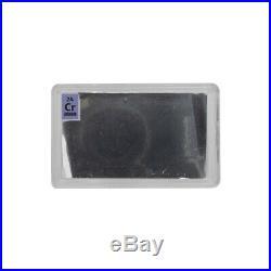 Real Platinum Palladium Gold Cobalt Pure Metal Element Foils 99.9% + 25mm x 50mm