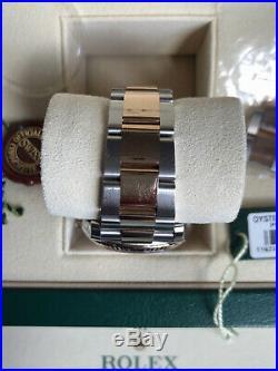 Rolex Datejust 116231 steel & rose gold 36mm Full Set / 2015 Perfect