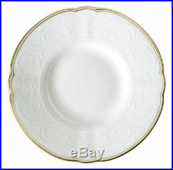 Royal Crown Derby Darley Abbey Pure 5 Piece Place Setting Dinnerware NEW