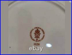 SET OF 2 Royal Crown Derby Old Imari 8.5 Salad Plates Perfect Unused