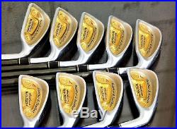 SUPER RARE & FINEST 24K PURE GOLD Honma 4STAR LADIES Twin Marks Iron Set