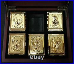 Saint Seiya I Cavalieri dello Zodiaco Pandora Box Perfect Ver. Gold Set