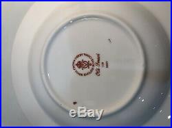 Set Of 8 Royal Crown Derby Old Imari Rimmed Soup Bowls 1st Quality Perfect