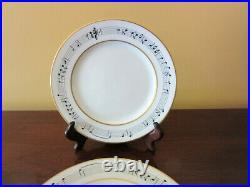 Set of 4 Tiffany & Co, Henry Mancini Moon River Dessert Plates, RARE, Perfect