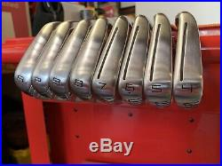 TaylorMade P-790 Iron Set 4-AW RH Stiff Steel Dynamic Gold 105 S300 W Pure Grips