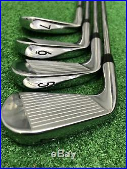 Titleist T100 Forged Iron Set / 4-PW / Pured Dynamic Gold Lite X100