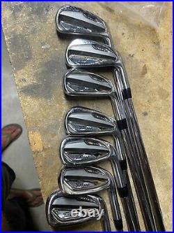 Titleist T100 Iron Set 4-PW 50 Iron Set PURED Dynamic Gold S400