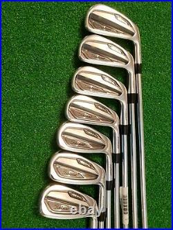 Titleist T100 Iron Set 4-pw Dynamic Gold Amt Tour White S300 Stiff Flex Perfect
