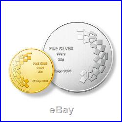 Tokyo Olympics Pure Gold Silver Medallion Set 2020 Japan Official Pre-order/sale
