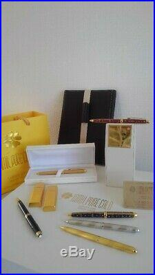 VIP Cooperate Gifts Jamil Pure Gold &Montblanc Luxury Pen Set, free Gift Gold USB