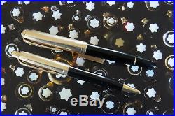 Vintage MONTBLANC pen and pencil set 644 + 672 Perfect condition OM Nib