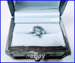 Wedding Ring set, Claude Thibaudeau pure perfection