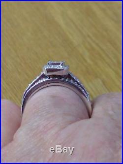 White Gold Perfect Fit Bridal Set Size R