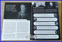 Winston Churchill Coin Set PURE SOLID GOLD COIN 24K 3,11g