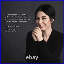 Zoeva Pure Synthetic Natural Complete Makeup Brush Eye Set, Vol. 1 Rose Golde